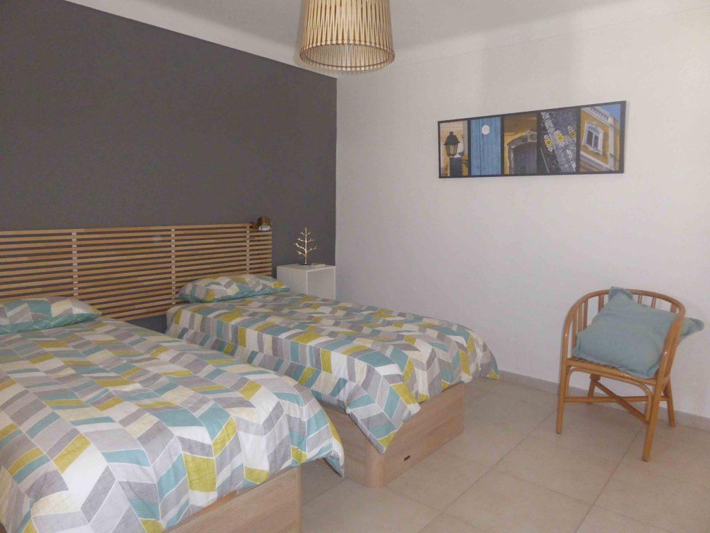 Chambre bois lits doubles casa katz