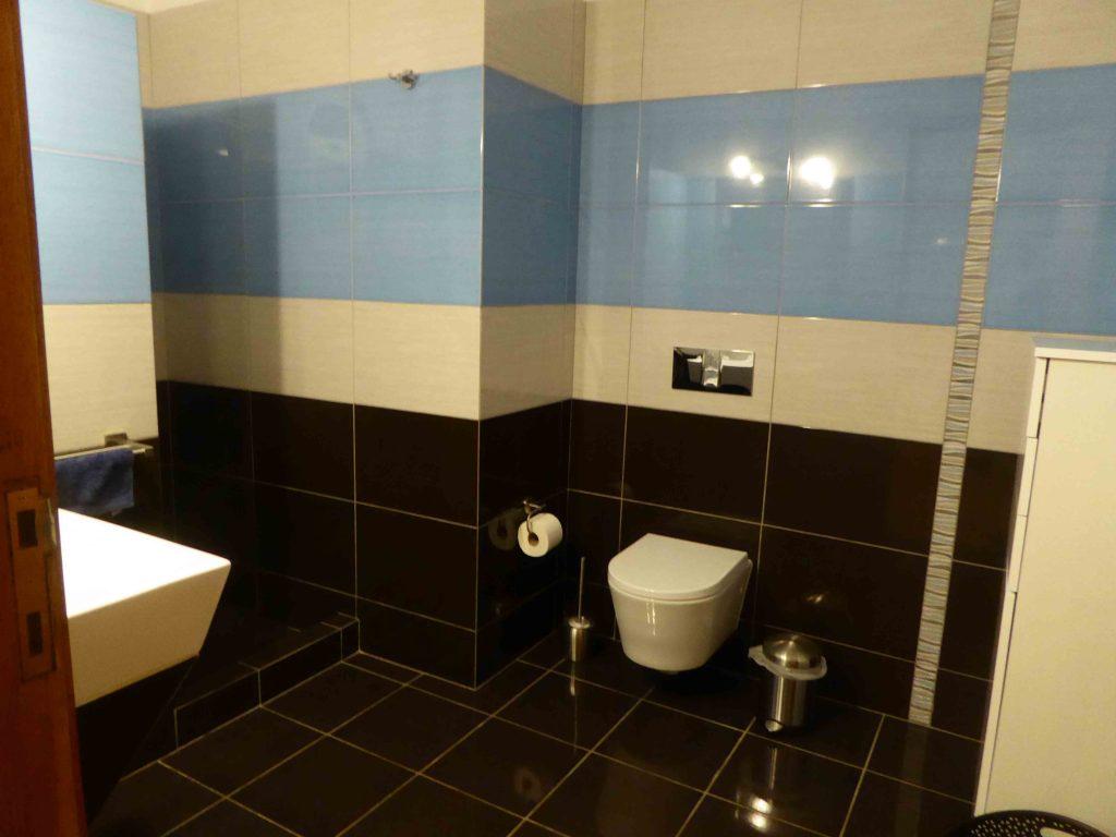 Salle de bain chambre bleu Casa Katz